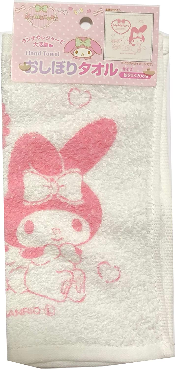 Friend Sanrio My Melody Wet Hand Towel /& Case Leisure Picnic Lunch Kitchen Sweets