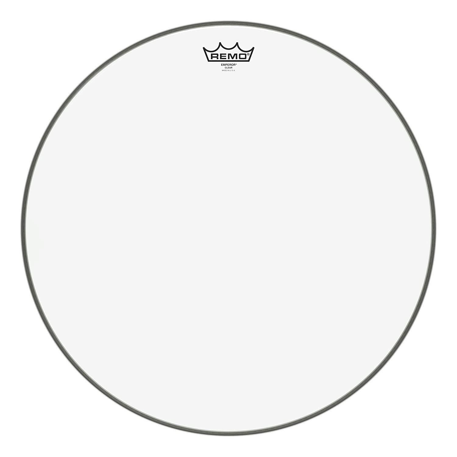 Remo BB-1324-00 Bass Drum Head, Emperor Clear Bass - 24