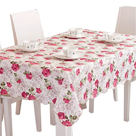 Genial Peony Garden Tablecloths 60 X 80 Inch Rectangular Tablecloth