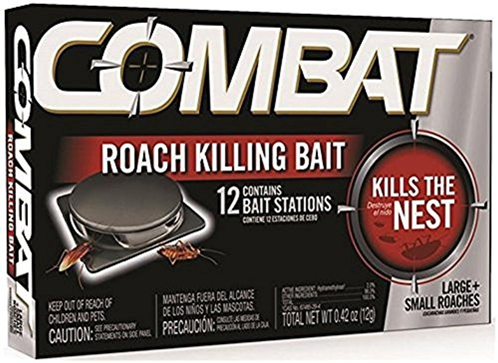 Combat Roach Killing Bait (Large/small 12 ct)