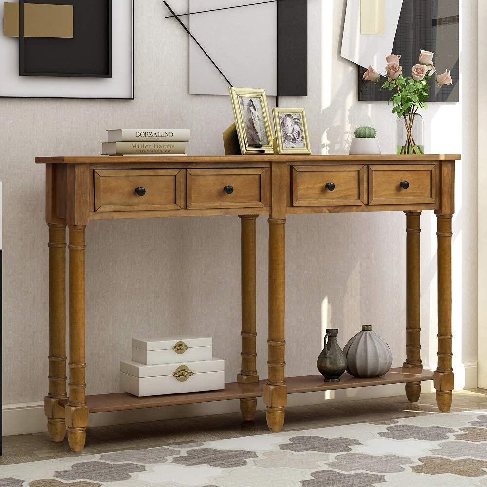 customers first   Console Table Sideboard Buffet Storage Cabinet ...