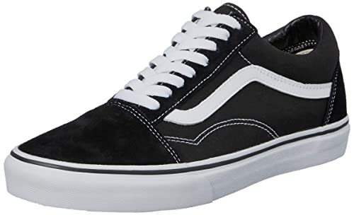 751a5434b110 Vans Unisex Adults  Old Skool Classic Suede Canvas Sneakers  Amazon ...