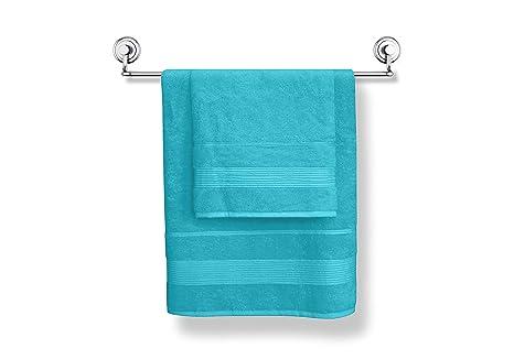 MODHAUS Toallas de Mano de Toallas de baño (50 x 90 + 70 x 140