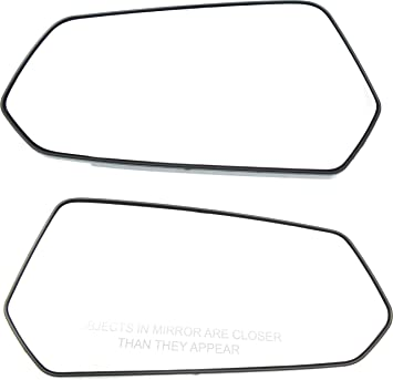 Power Mirror For 2010-2015 Chevrolet Camaro Driver Side Manual Fold Paintable