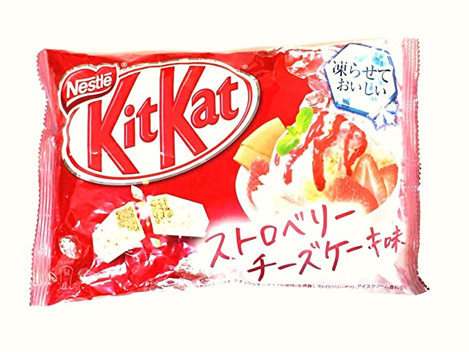 Japanese Kit Kat Strawberry Cheesecake mini 13 pcs 2017 summer limited version