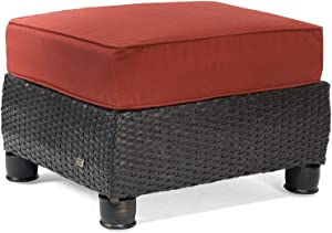 La-Z-Boy Outdoor BREQ1-R Patio Ottoman, Red