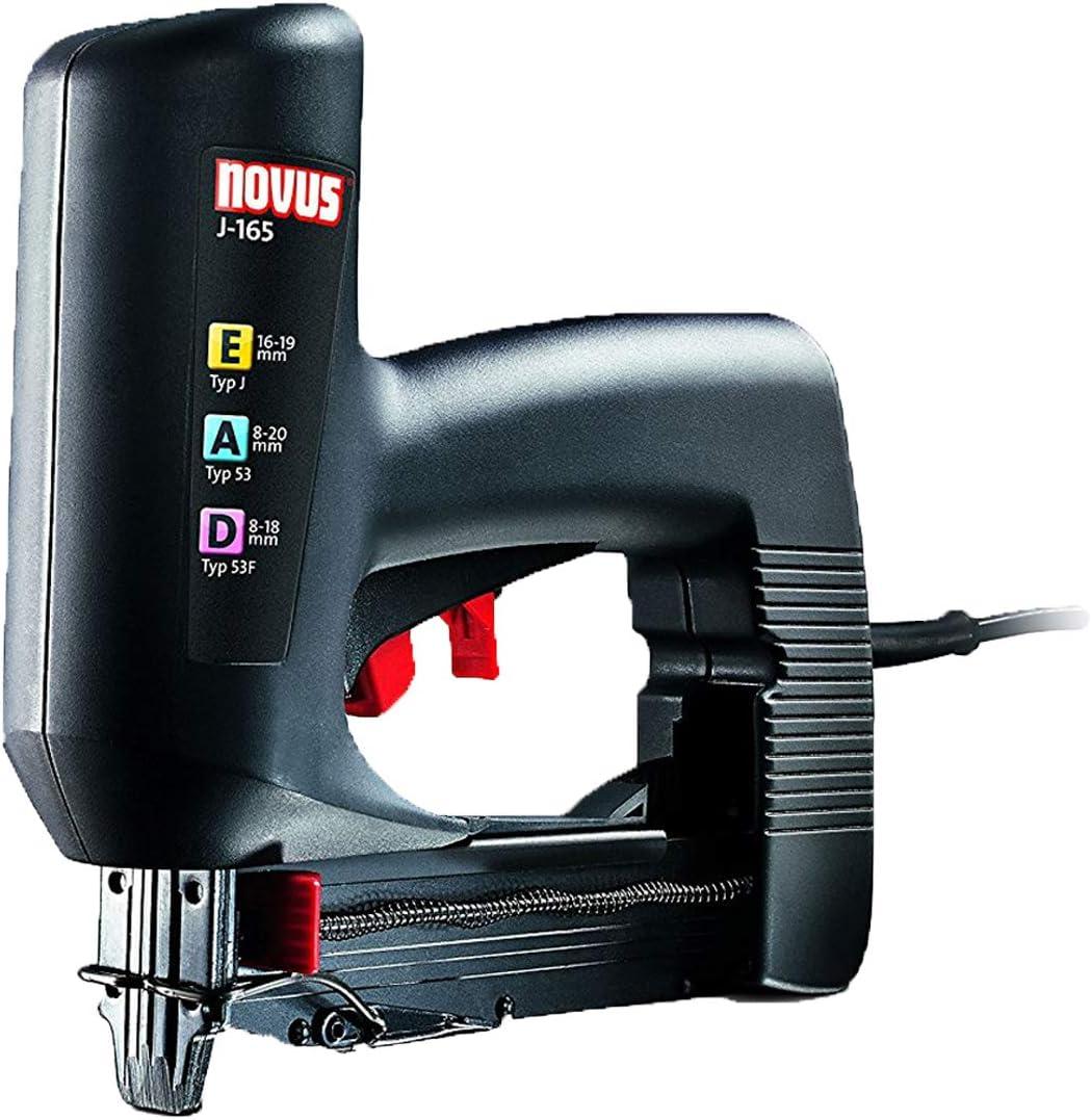 Novus 031-0326 Grapadora eléctrica J 165 EAD: Amazon.es: Bricolaje ...