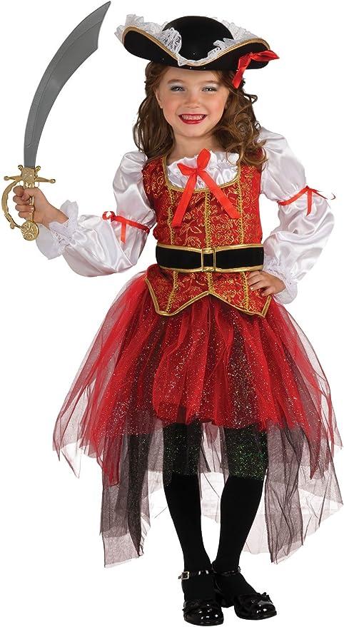 Rubies Princess of the Seas - Pirate - Niños Disfraz - Grande ...