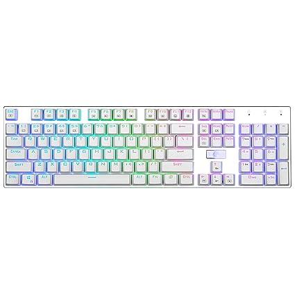 E-Element Z-88 RGB Mechanical Gaming Keyboard, Programmable RGB Backlit, Blue