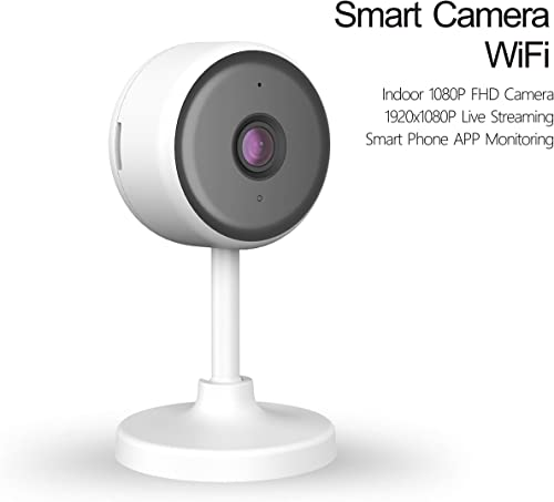 eco4life 1080p Indoor 2.4G WiFi Smart IP Camera