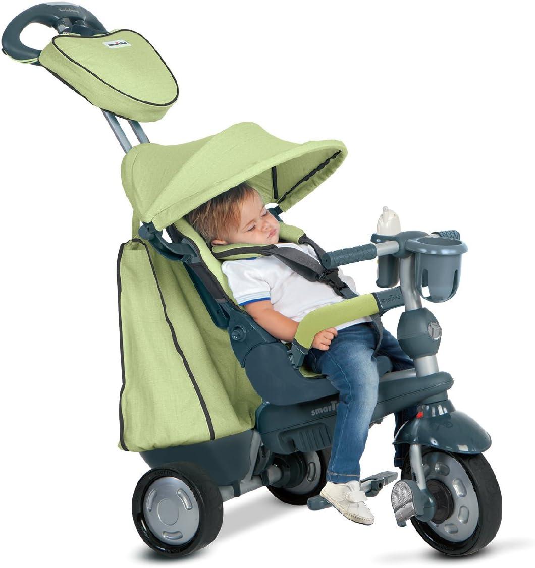 SMARTRIKE Giochi Preziosi OFR8200700 Triciclo Trike Inteligente Explorer 5-en-1 Verde