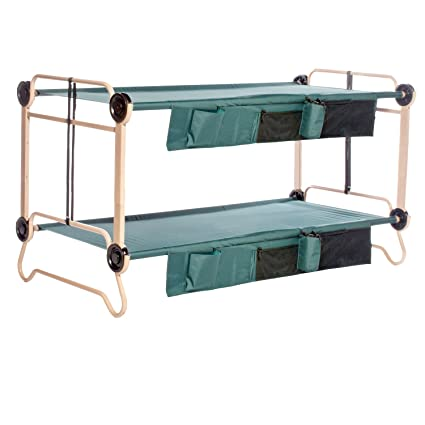 Disc O Bed X Large With Organizers And Leg Extension