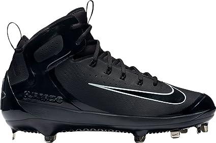 Nike Air Huarache Milieu Moulé Taquets De Baseball Noirs w4fMG7oZ