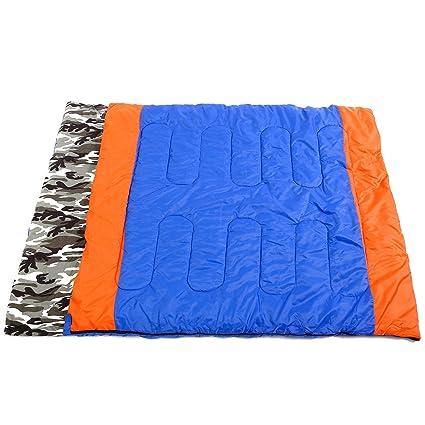 Dos personas Saco de dormir Saco de dormir Saco de dormir impermeable Dormir cobertura camping 210