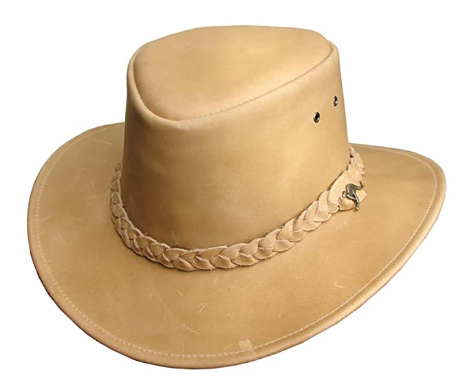 2c915d8ded9 Nullabor Leather Hat with 3-Straight Hatband