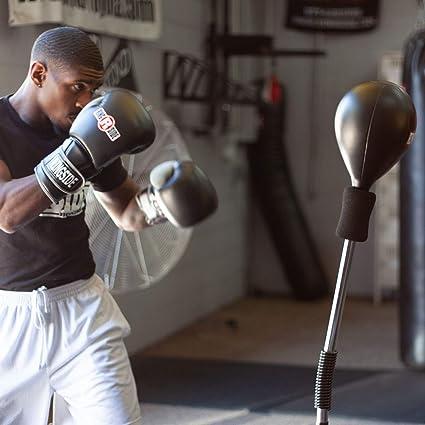 Ringside Cobra Reflex Free-Standing Adjustable Boxing Fitness Workout  Punching Bag
