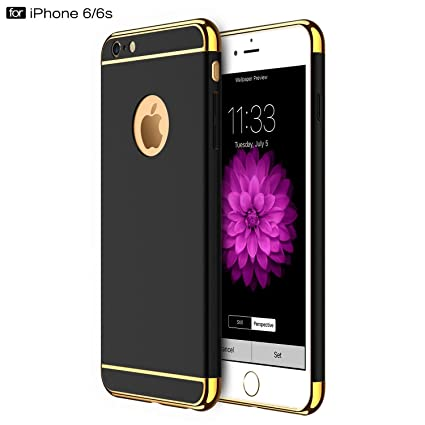 89091912a0 GoldKart *3-in-1 Dual Layer Thin Back Cover Case For: Amazon.in: Electronics