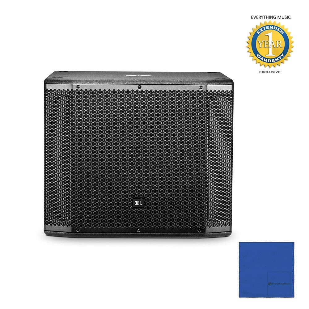 JBL SRX818SP 18'' Self-Powered Subwoofer System with Microfiber and 1 Year Everything Music Extended Warranty by JBL