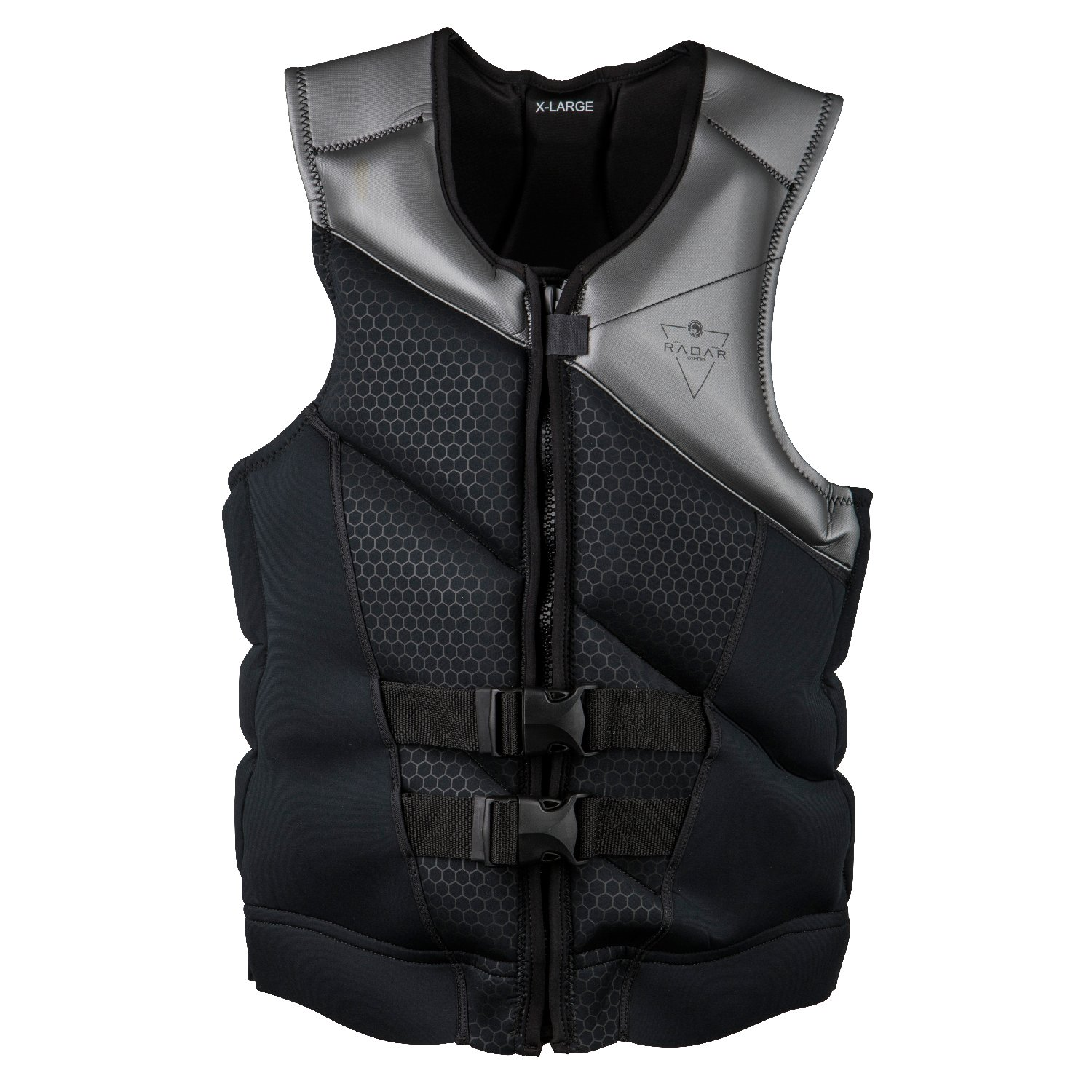 Radar X 2.0 - CGA Life Vest - Black / Gunmetal (2019)-Small by Radar