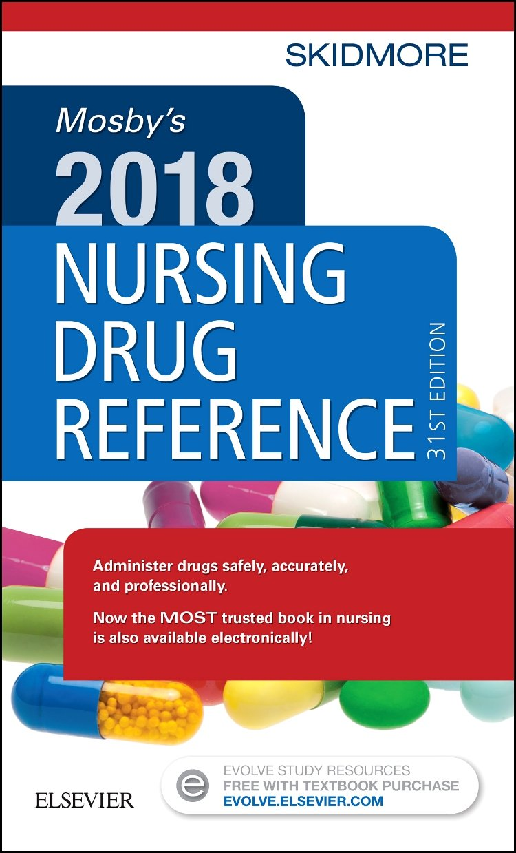 Mosby's 2018 Nursing Drug Reference: Linda Skidmore-Roth RN MSN NP:  9780323531924: Pharmacology: Amazon Canada