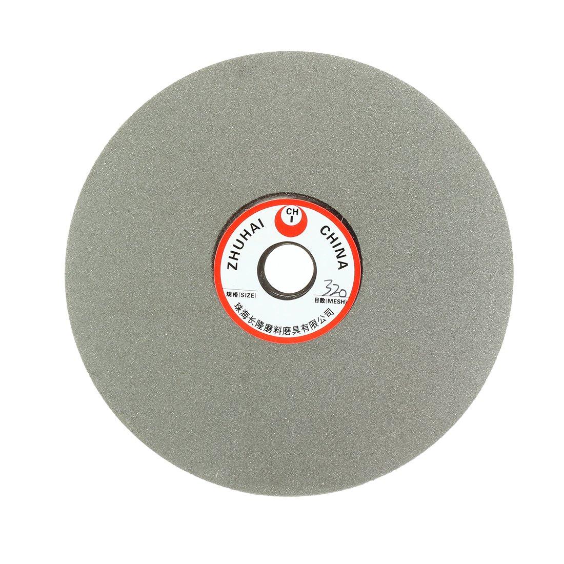 uxcell 6-inch Grit 320 Diamond Coated Flat Lap Wheel Grinding Disc Polishing Tool