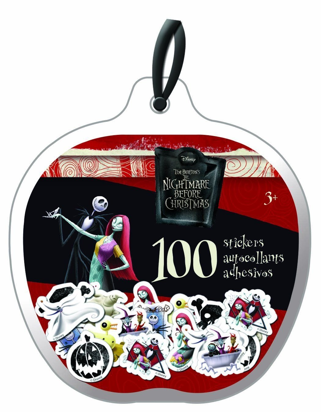 Buy Nightmare Before Christmas Stickers - 100 Mini Stickers Online ...