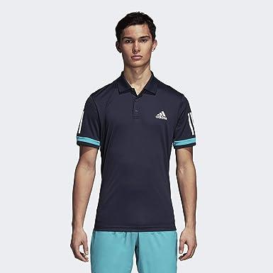 5d86ff74246ac adidas Men's 3-stripes Club Polo Shirt