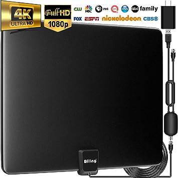 Amazon.com: Antena de TV de Biling para TV digital de ...
