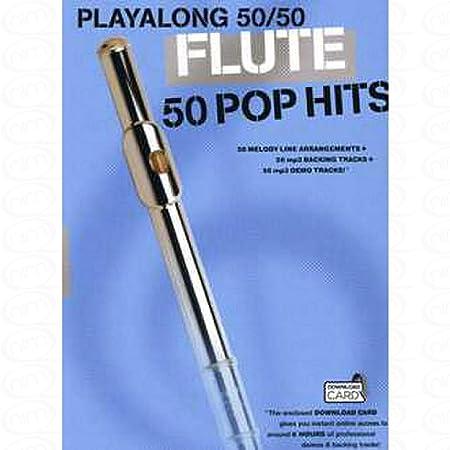 50 Pop hits - arrangiert für Querflöte [Noten/Sheetmusic]