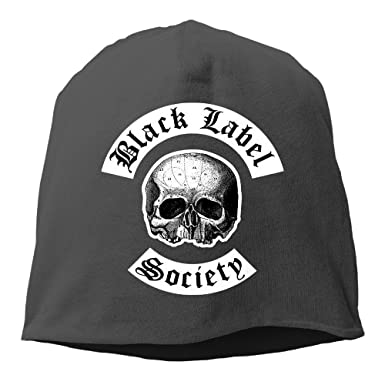dfecef1994059 M Angel Black Label Society Unisex Skull Cap Warm Hat One Size Black ...