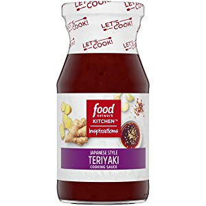 Food Network Kitchen Inspirations Japanese Style Teriyaki Cooking Sauce (15 oz Bottle)