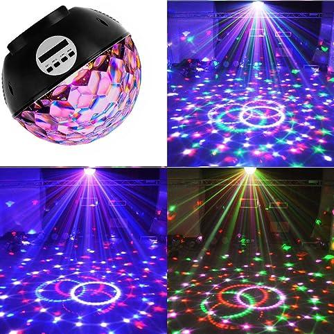 disco ball party lights speakerlvl strobe club lights effect magic mini led stage lights - Strobe Christmas Lights