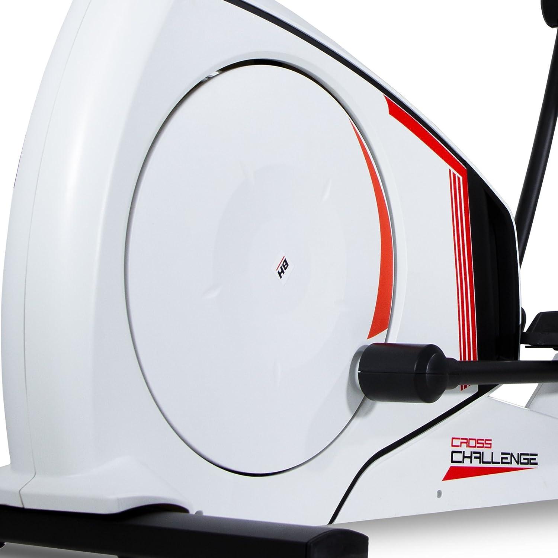 BH Cross Challenge bicicleta elíptica. Fitness Apps. 14 Kg sistema inercial. Blanca. G2381RF: Amazon.es: Deportes y aire libre