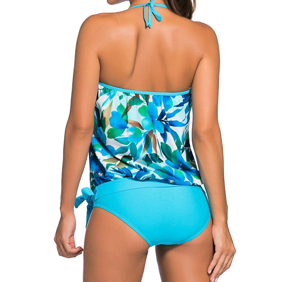 Dissa HT41923 Women Noir Swimsuit 1 Piece Tankini,EU Size 38-40(M)