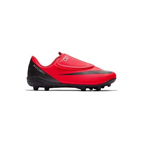 NIKE - Botas de fútbol de Sintético para niño, Color Rojo, Talla 29.5 EU