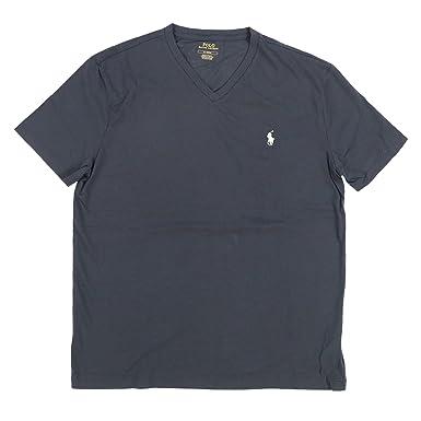 Polo Ralph Lauren - Camiseta de Cuello en V para Hombre - Gris ...