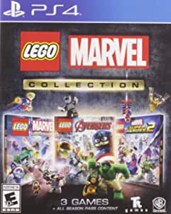 Lego Marvel Collection (2 Discs)