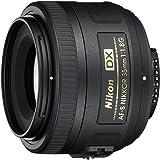 Nikon Obiettivo Nikkor AF-S DX 35 mm f/1.8G, [Nital Card: 4 Anni di Garanzia], Nero