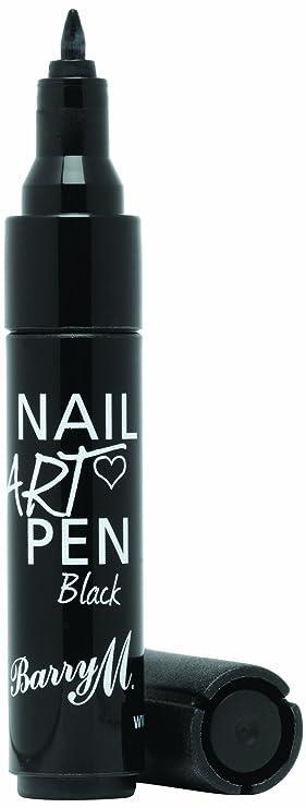 Barry M Cosmetics Nail Art Pen Black Amazon Beauty