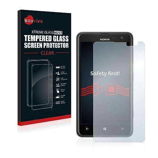 21 opinioni per Savvies Vetro per Nokia Lumia 625 Pellicola Vetro Temperato, Vetro Protettivo-
