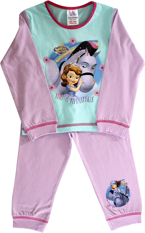 Princess Sofia The First Bran New Baby Girl Pjs Pyjamas 18-24 Months