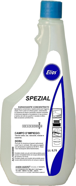 Elios - Spezial desengrasante Alcalino para color, freidora ...