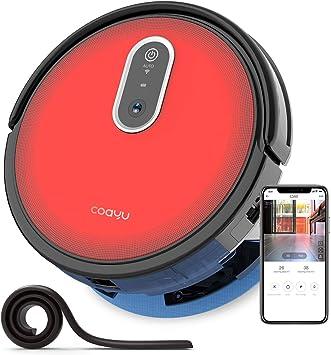 COAYU C560 Saugroboter mit Wischfunktion mit Panoramakamera, Fegen Saugen und wischen 3 in 1, Wifi App und Fernbedienung Steuerung,