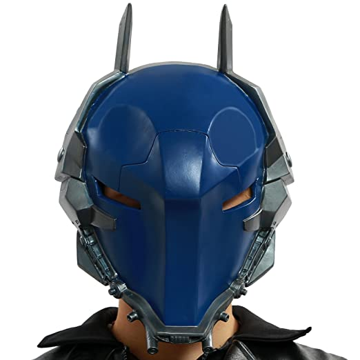 Dark Helmet Halloween Costume | Amazon Com Xcoser Reg Arkham Knight Helmet Villain Mask Props For