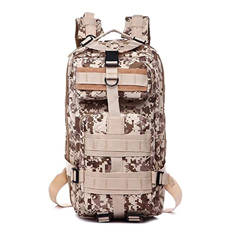 Military Bag Army Tactical Outdoor Camping Mens Military Tactical Backpack Oxford for Cycling Hiking Sports Climbing