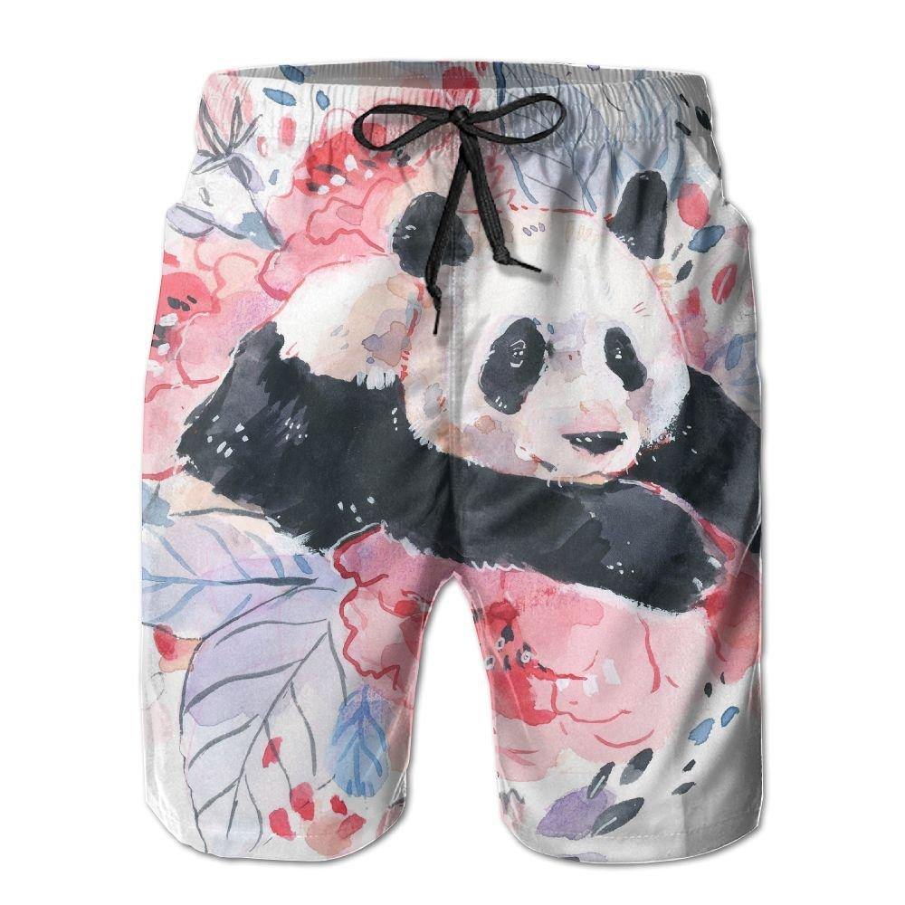 Men's Panda Swim Trunks With Pockets SG ULTIMATE INNO