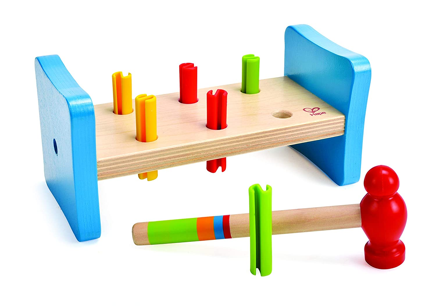 Magnificent Hape First Pounder Toddler Wooden Hammer Tool Creativecarmelina Interior Chair Design Creativecarmelinacom