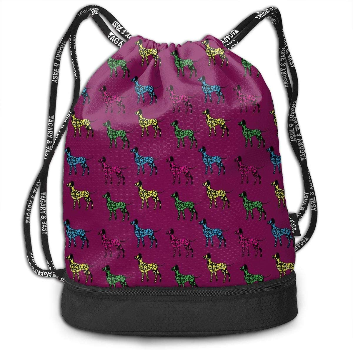 Drawstring Backpack Great Dane Rucksack