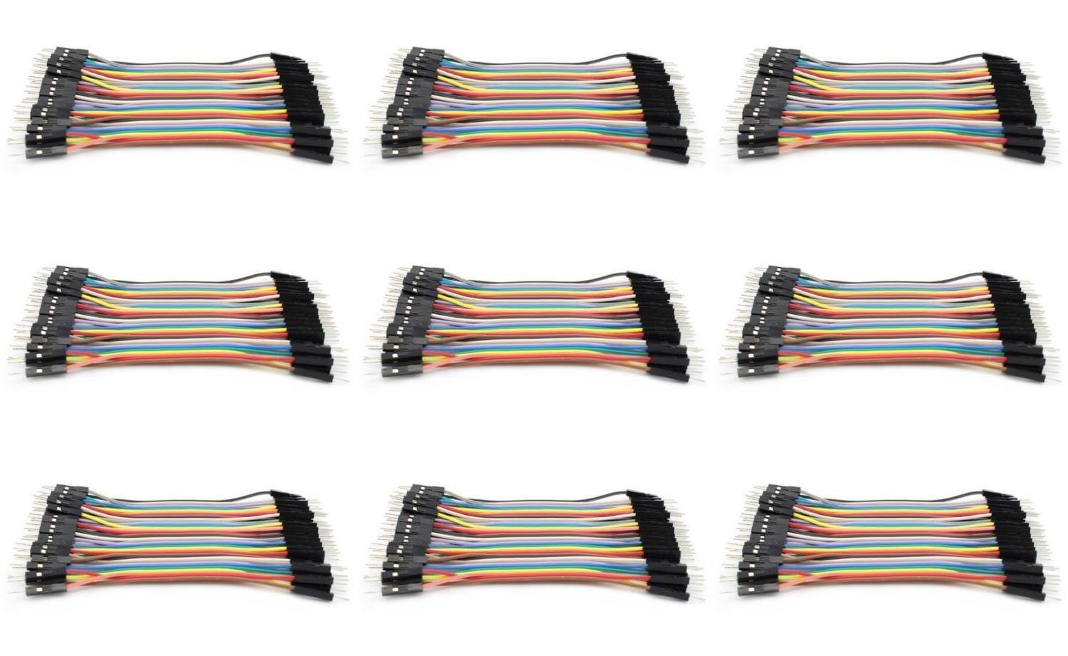 9 x Quantity of Walkera QR X350 PRO Dupont 40 Qty 10cm 2.54mm 1pin Male to Male Jumper Wire Dupont Cables - FAST FROM Orlando, Florida USA