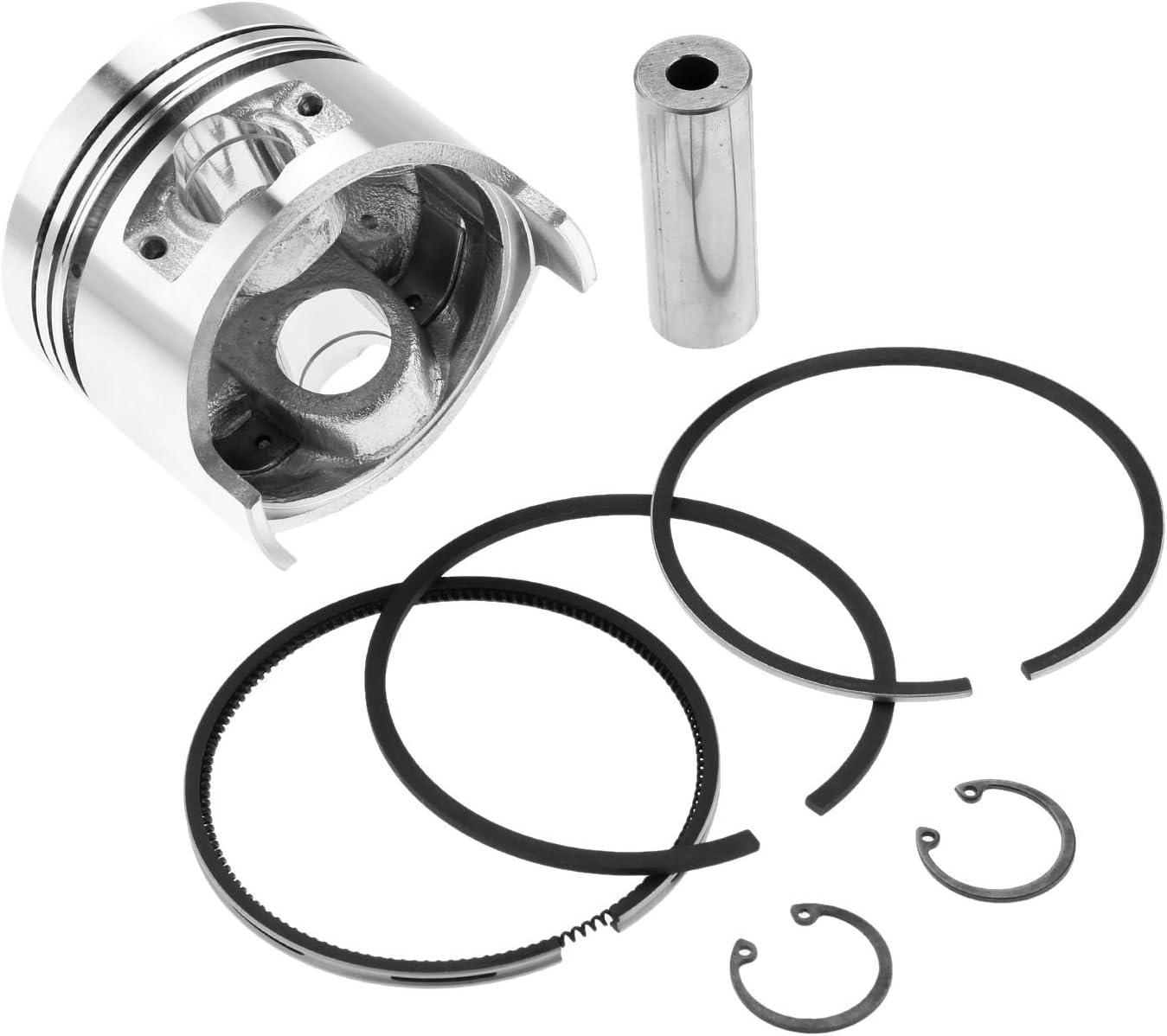 Hicello Piston Kit Kolbenringe Connecting Rod Motor Engine Parts Für 178f Diesel Engine Motor Küche Haushalt